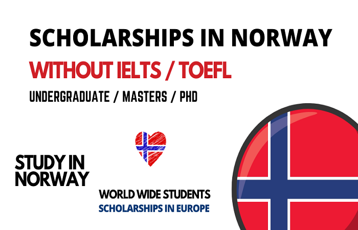 Scholarships in Norway without IELTS