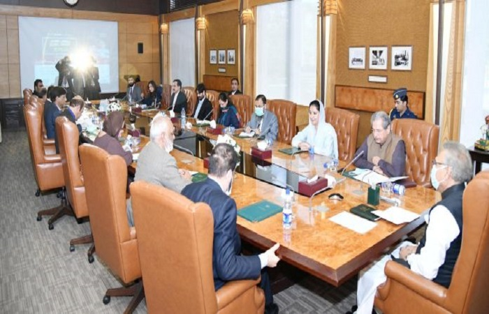 President Alvi chaired an important meeting with education experts