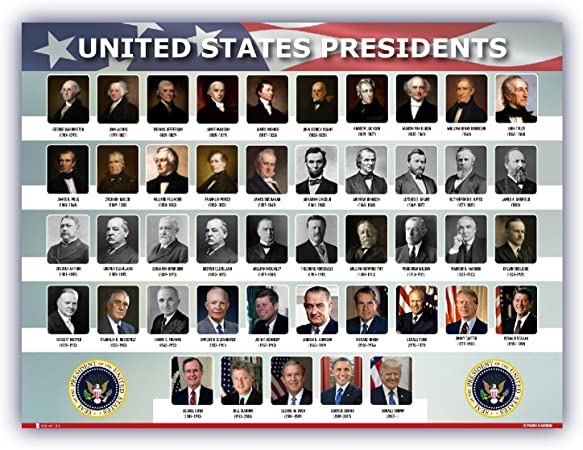 List of Presidents of USA